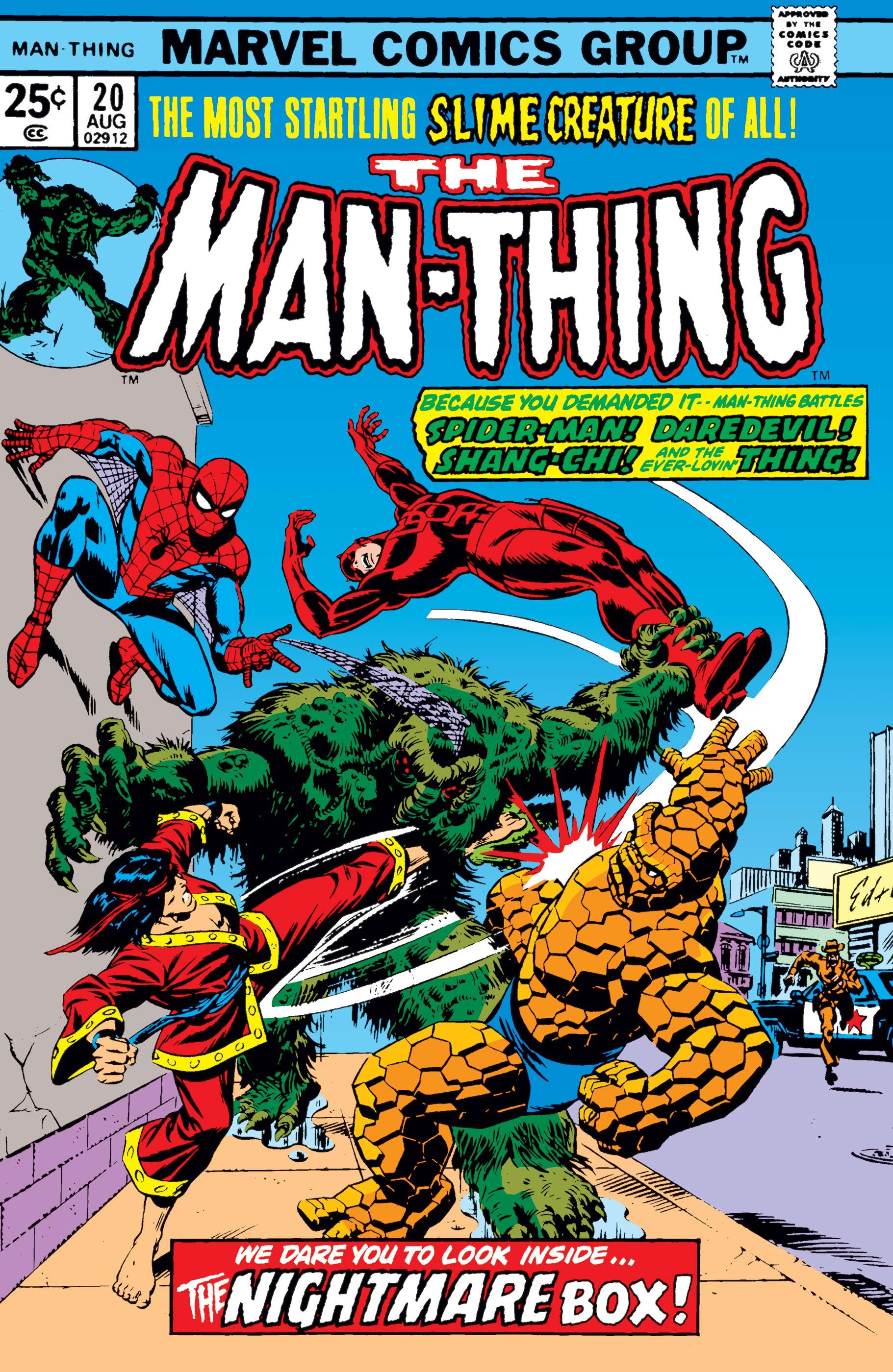 Man-Thing (1974) #20