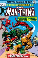 Man-Thing (1974) #20 cover