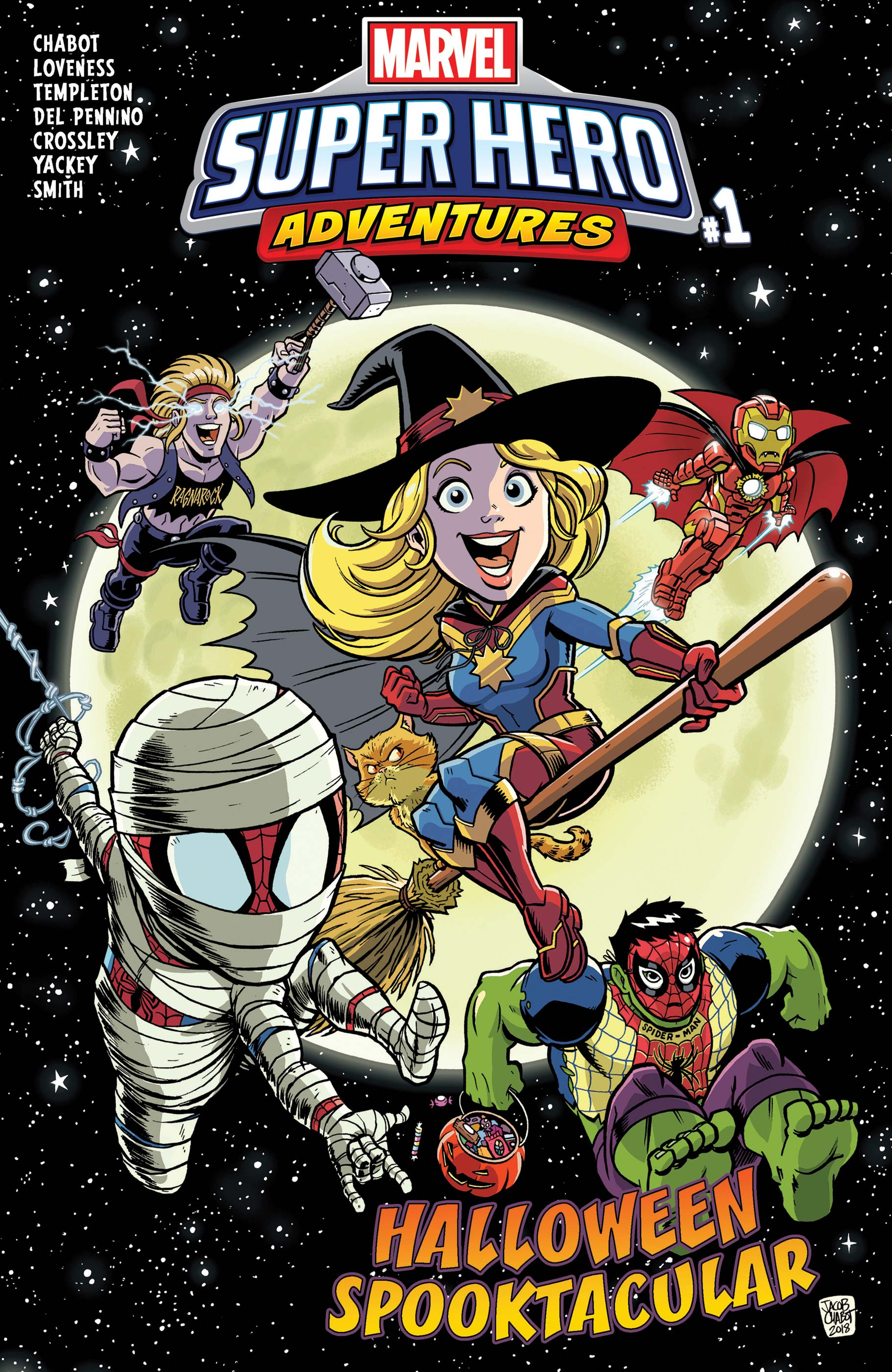 Marvel Super Hero Adventures: Captain Marvel - Halloween Spooktacular (2018) #1