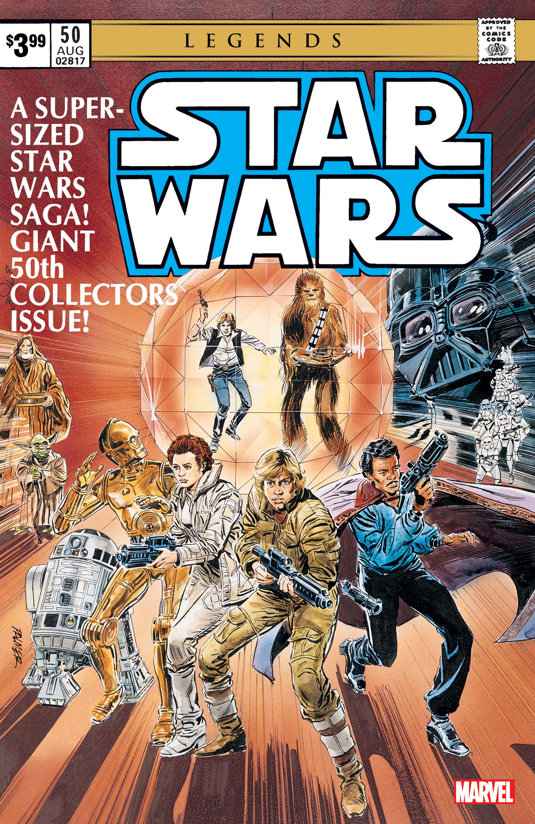 Star Wars: The Original Marvel Years 50 Facsimile Edition (2019) #1