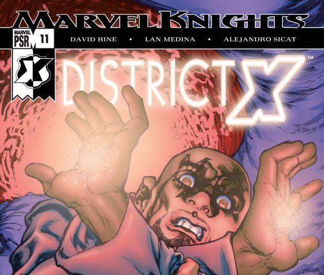 DISTRICT X (2004) #11