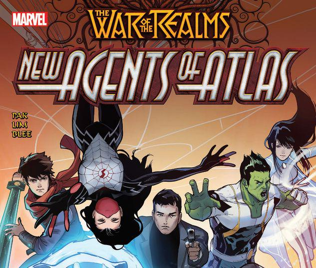 WAR OF THE REALMS: NEW AGENTS OF ATLAS TPB #1