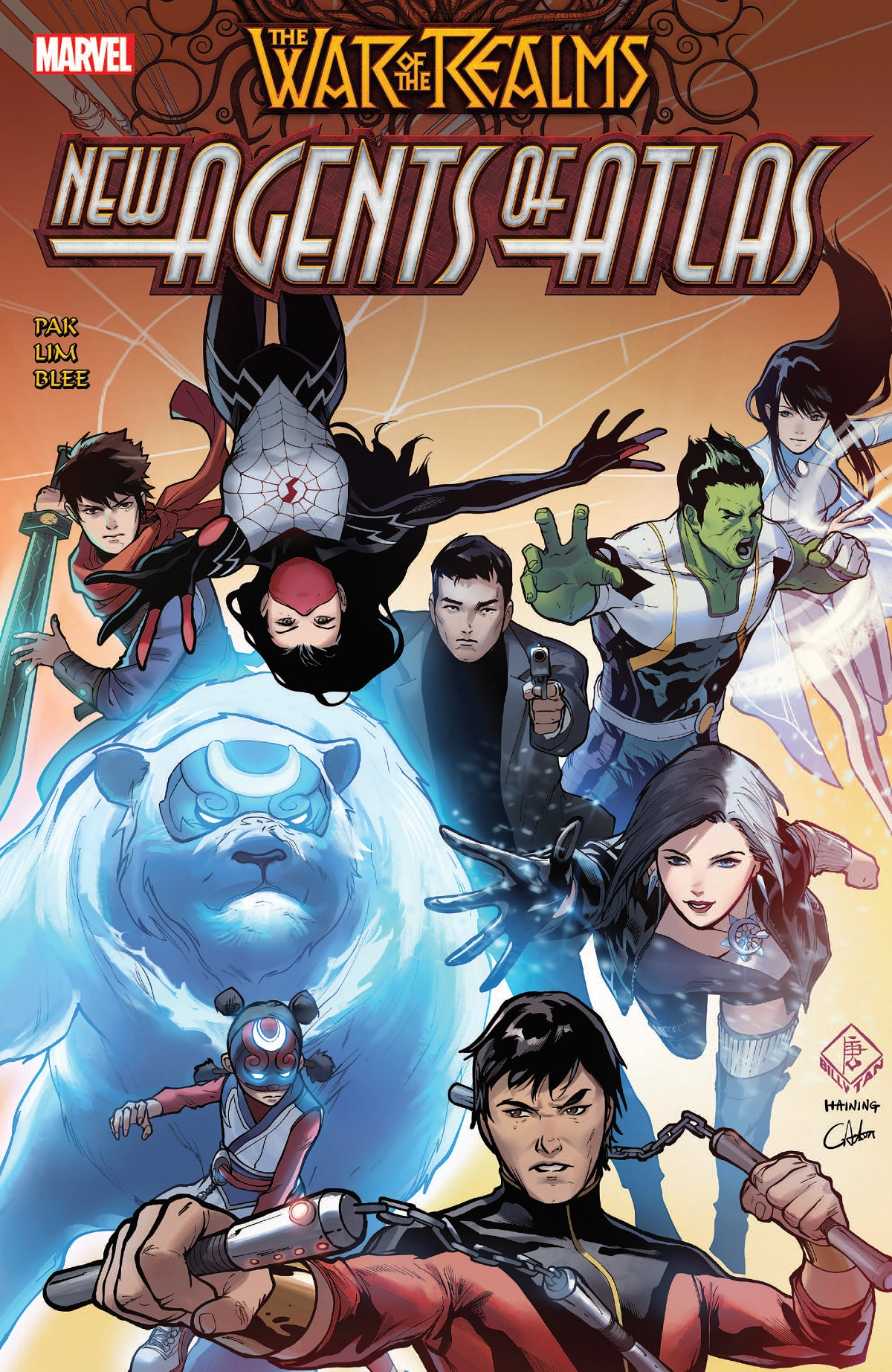 War Of The Realms: New Agents Of Atlas (Trade Paperback)
