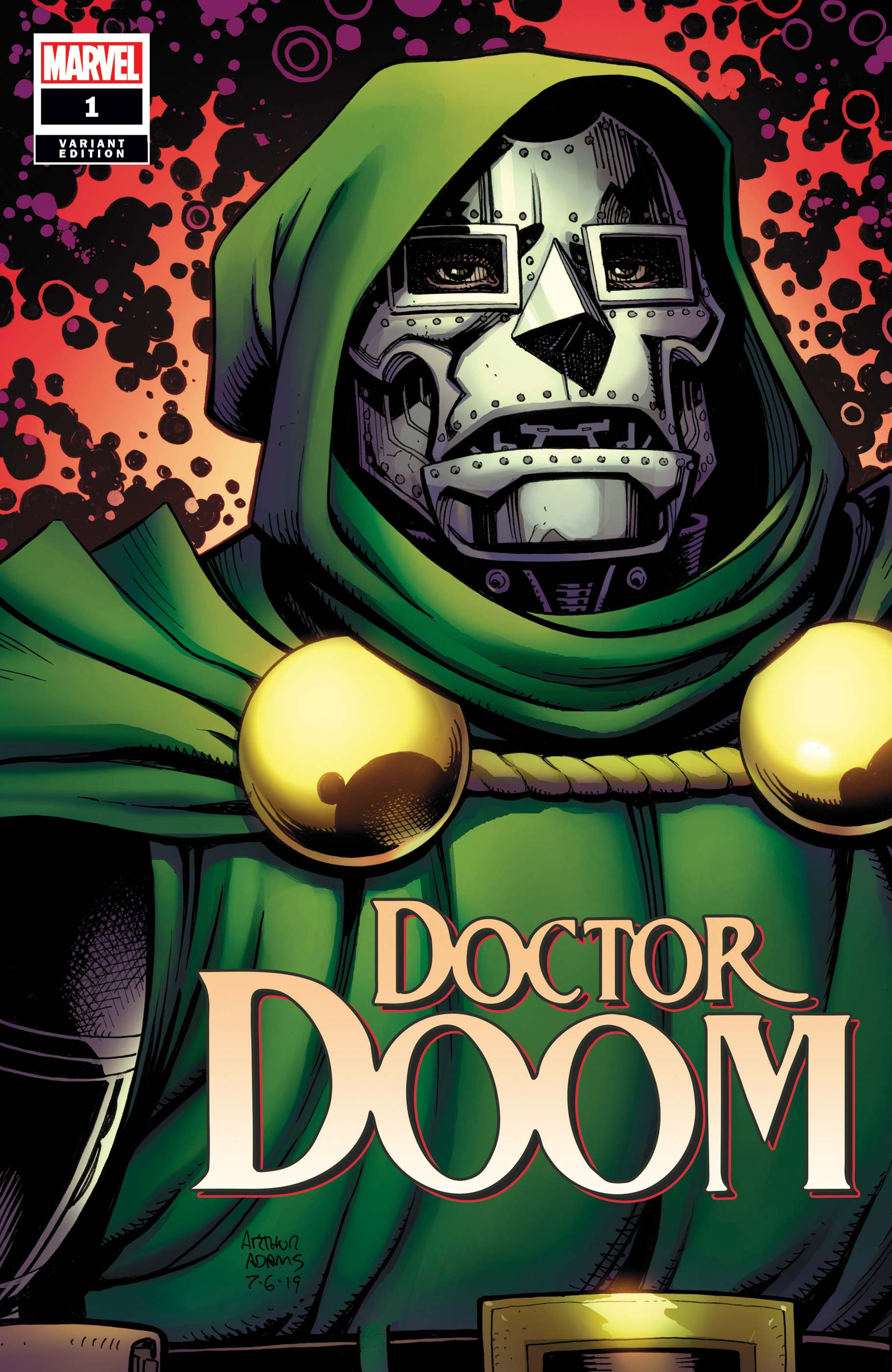 Doctor Doom (2019) #1 (Variant)