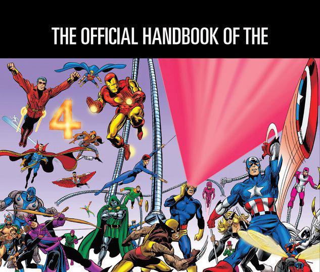 OFFICIAL HANDBOOK OF THE MARVEL UNIVERSE OMNIBUS HC #1