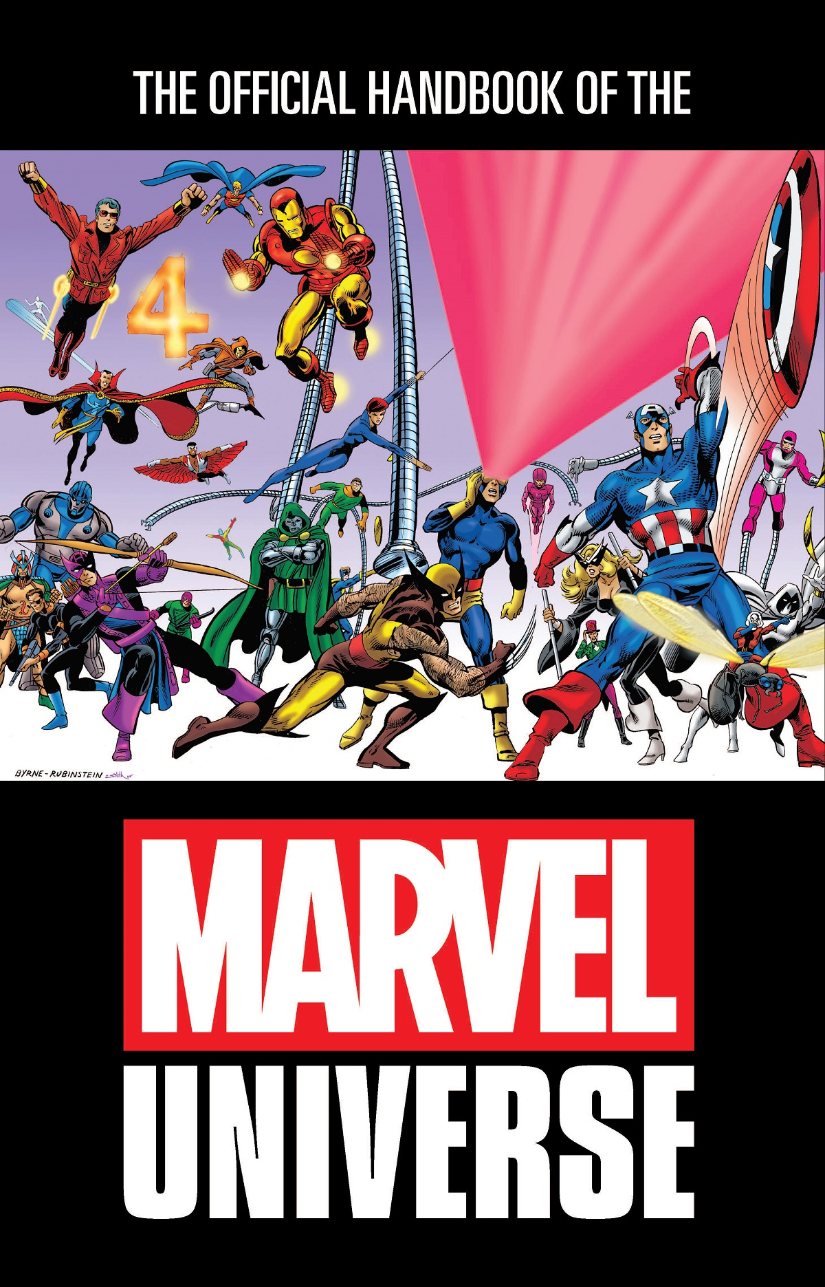 Official Handbook Of The Marvel Universe Omnibus (Hardcover)