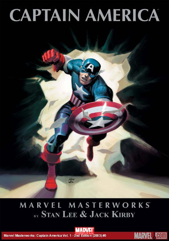 Marvel Masterworks: Captain America Vol. 1 - 2nd Edition (Hardcover)