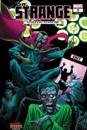 Dr. Strange (2019) #5 (Variant)
