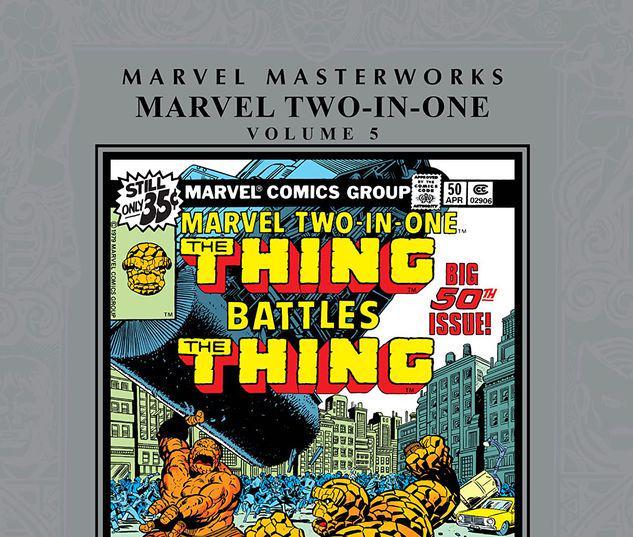 MARVEL MASTERWORKS: MARVEL TWO-IN-ONE VOL. 5 HC #5