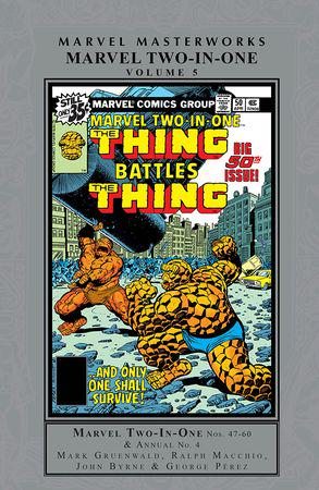 Marvel Two-In-One Masterworks Vol. 5 (Hardcover)