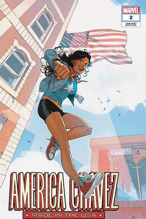 America Chavez: Made in the USA (2021) #2 (Variant)