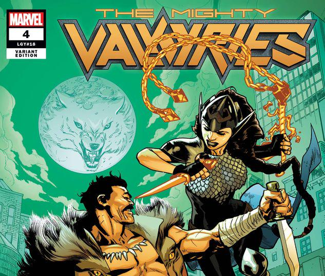 The Mighty Valkyries #4