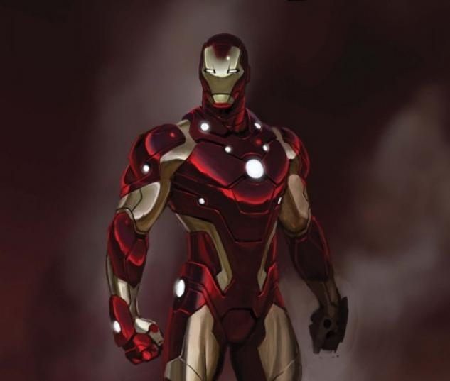 Invincible Iron Man (2008) #25 (FOILOGRAM VARIANT)