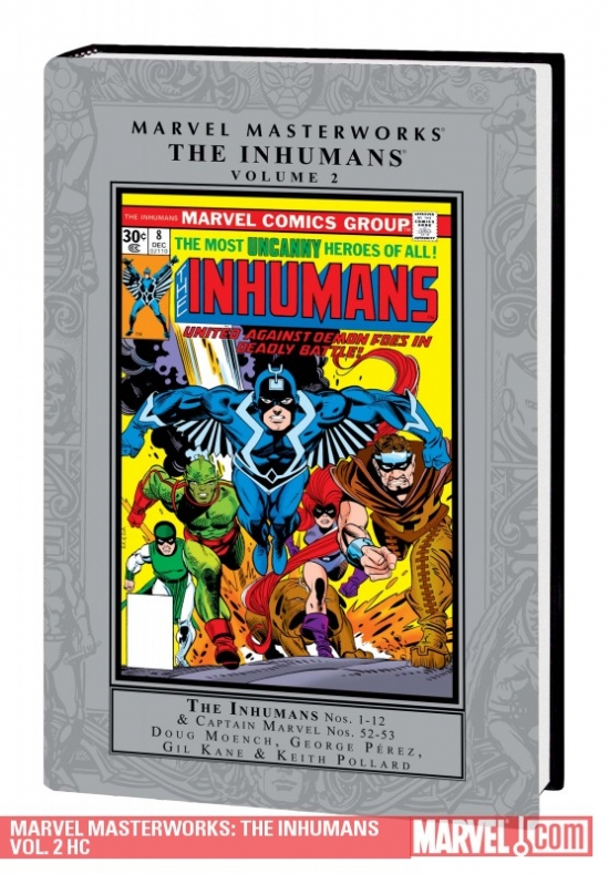 Marvel Masterworks: The Inhumans Vol. 2 (Hardcover)