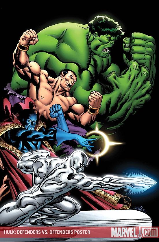 Hulk: Defenders Vs. Offenders (2009) #1