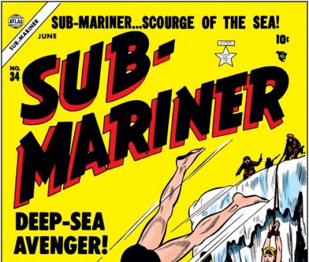 SUB-MARINER COMICS #34
