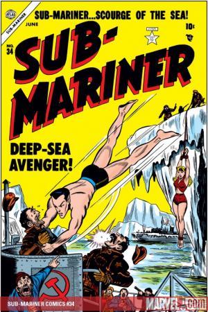 Sub-Mariner Comics (1941) #34