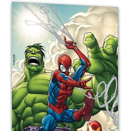 MARVEL ADVENTURES SPIDER-MAN, HULK & IRON MAN: TRIPLE THREAT #0