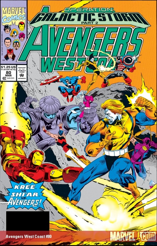 West Coast Avengers (1985) #80