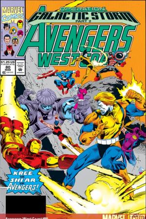 Avengers West Coast #80