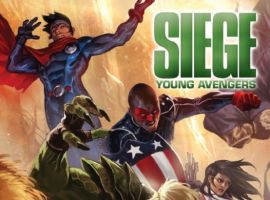 SIEGE: YOUNG AVENGERS #1 Cover by Marko Djurdjevic