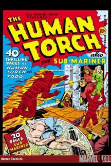 Human Torch Comics (1940) #3