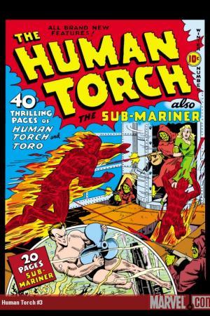 Human Torch Comics #3