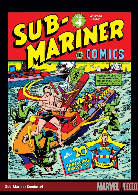 Sub-Mariner Comics (1941) #4