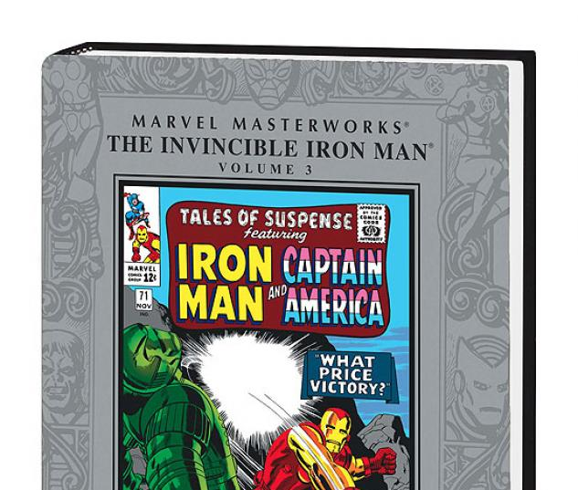MARVEL MASTERWORKS: THE INVINCIBLE IRON MAN VOL. 3 COVER