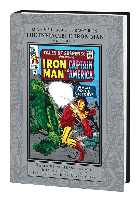 Marvel Masterworks: The Invincible Iron Man Vol. 3 (Hardcover)