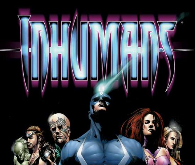 INHUMANS VOL. I TPB COVER