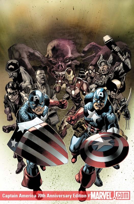 Captain America 70th Anniversary Edition (2011) #1