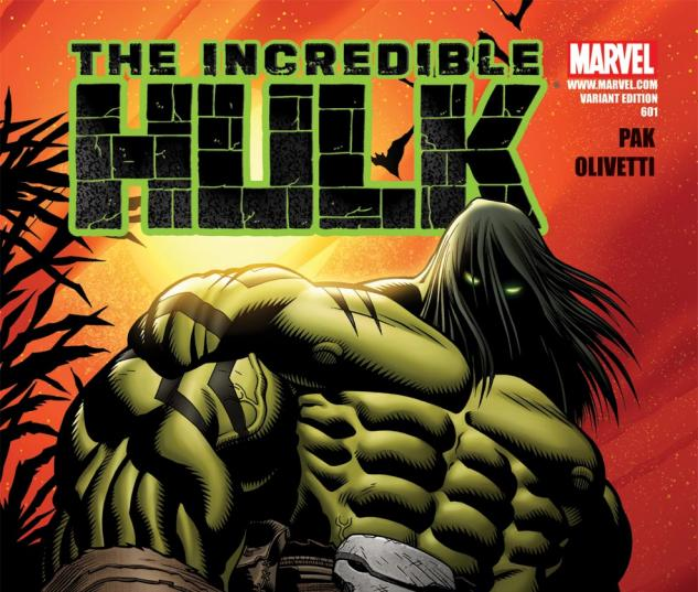Incredible Hulks (2009) #601, VARIANT