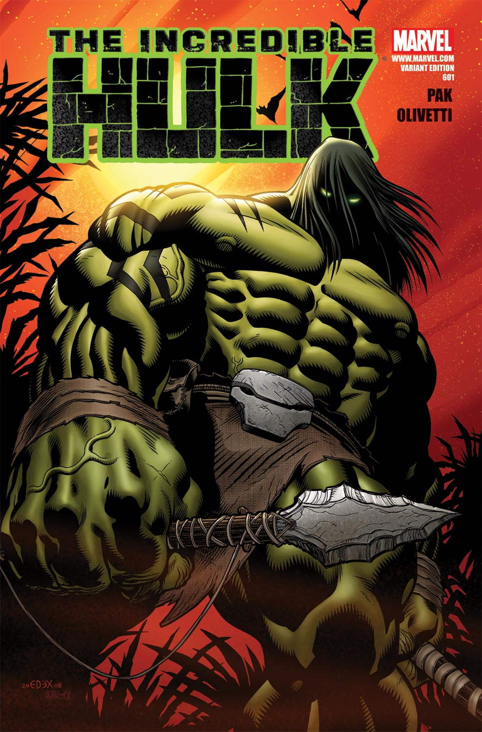 Incredible Hulks (2010) #601 (VARIANT)