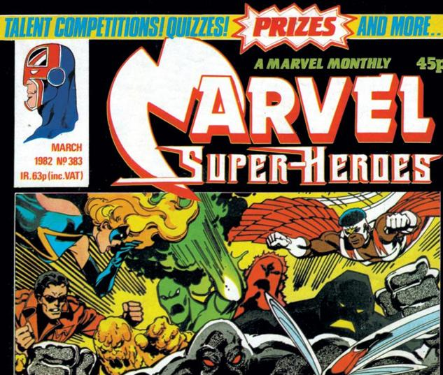 Marvel Super-Heroes (1967) #383 Cover