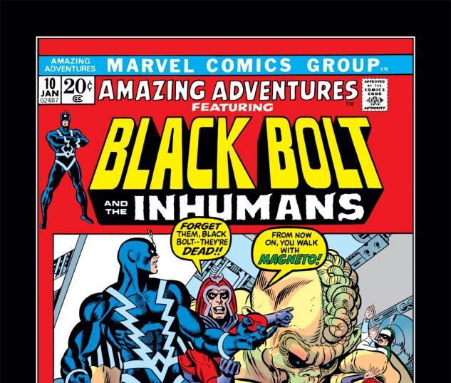 Amazing Adventures (1970) #10 Cover