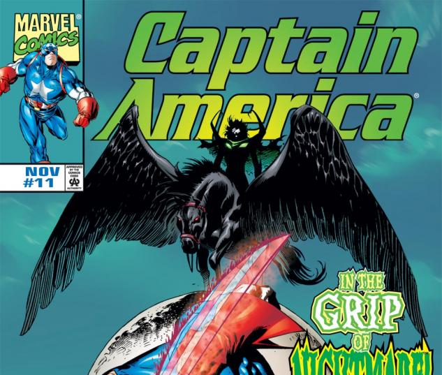 Captain America (1998) #11 Cover
