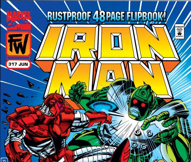 Iron Man (1968) #317 Cover