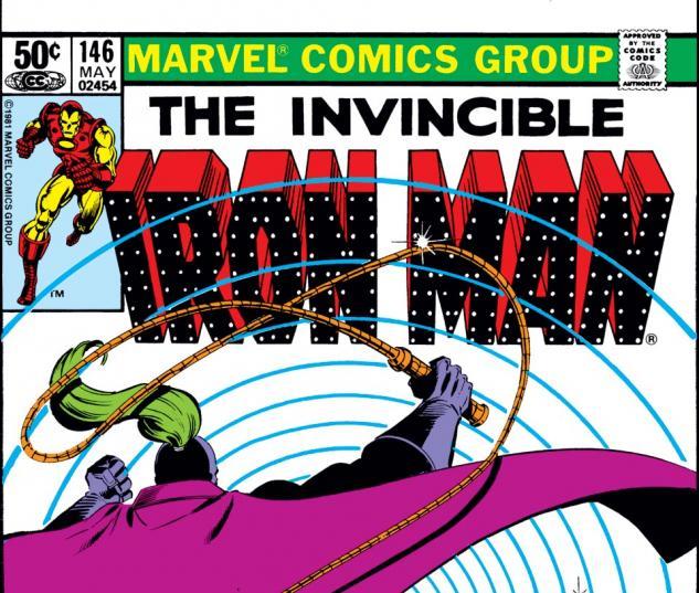 Iron Man (1968) #146 Cover