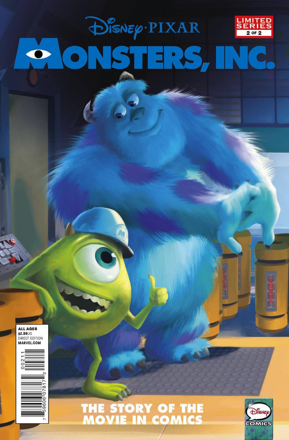 Monsters, Inc. (2012) #2