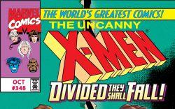 Uncanny X-Men (1963) #348 Cover