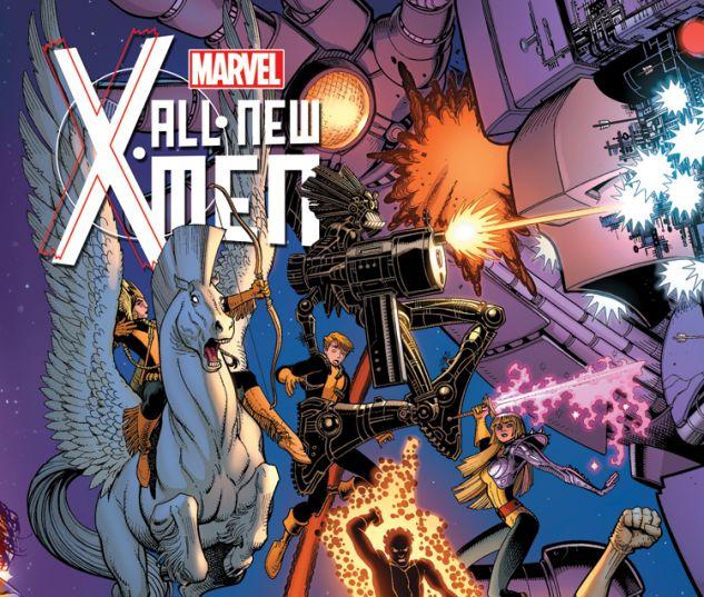 ALL-NEW X-MEN 20 ADAMS X-MEN 50TH ANNIVERSARY VARIANT (WITH DIGITAL CODE)
