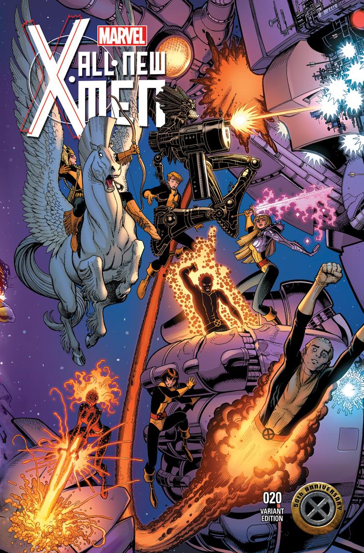 All-New X-Men (2012) #20 (Adams X-Men 50th Anniversary Variant)