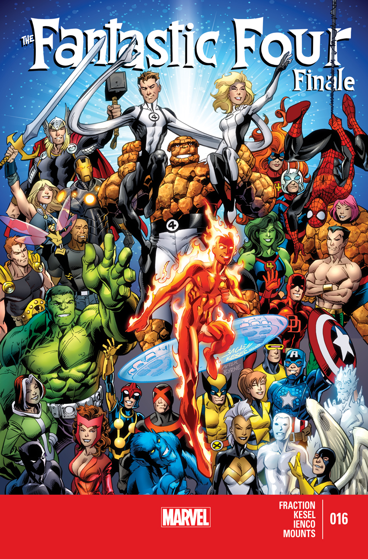Fantastic Four (2012) #16