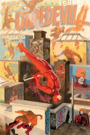 Daredevil #1.50 cover by Paolo Rivera