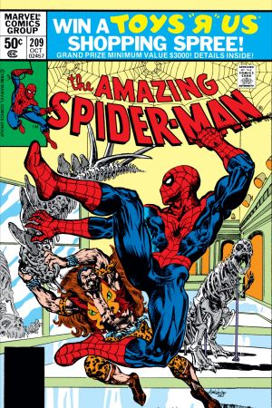The Amazing Spider-Man #209