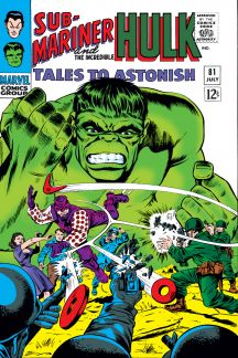 Tales to Astonish #81