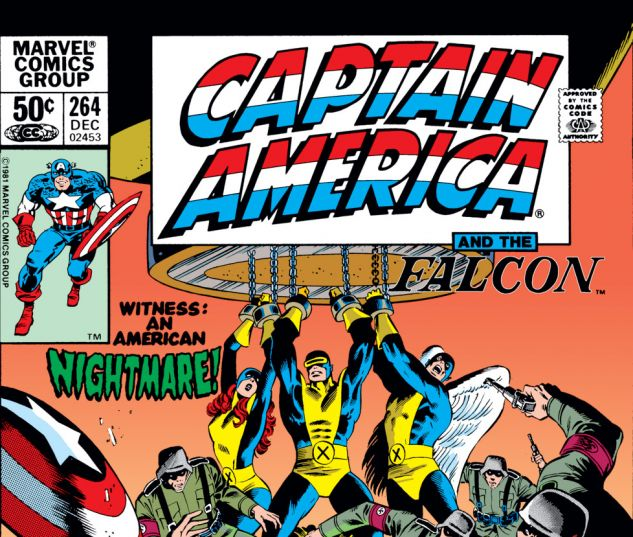 Captain America (1968) #264 Cover