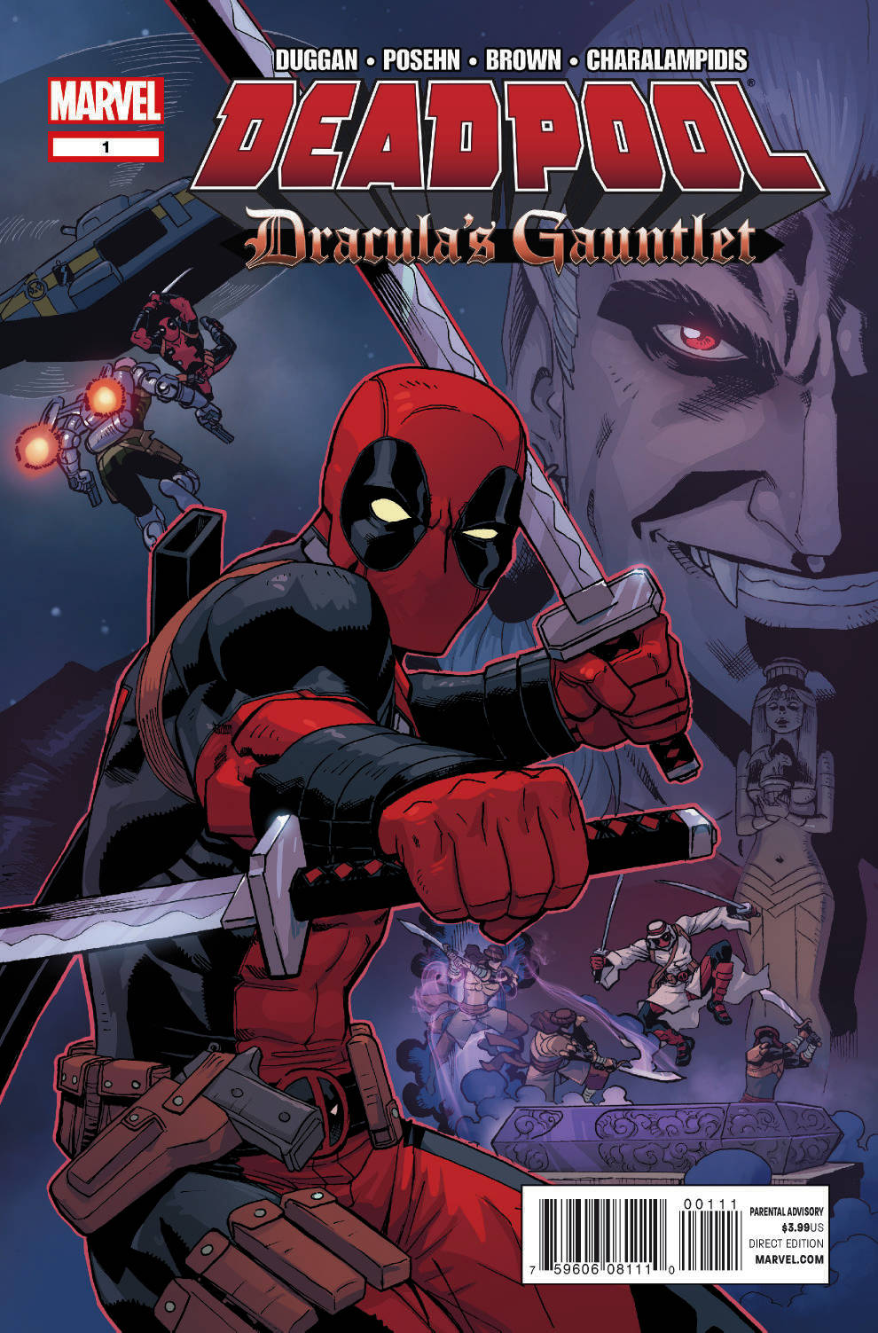 Deadpool: Dracula's Gauntlet (2014) #1
