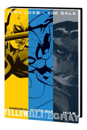 Jeph Loeb & Tim Sale: Yellow, Blue and Gray (Hardcover)